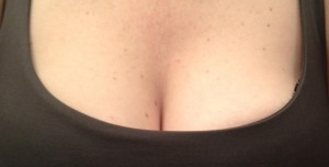 yeah I have a woman I can turn too when I need a quick turnaround, original cleavage shot … don't you?
