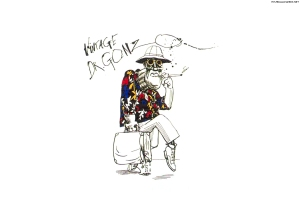 I was digging Ralph Steadman before most people knew who Johnny Depp was.  I even had a this on a Tee (and still do) in like 1994