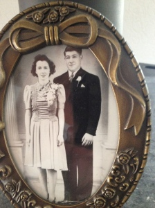 Grandma and Grandpa ... circa who knowns
