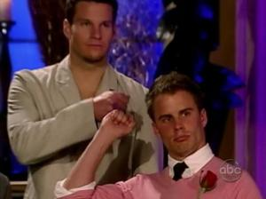 What our fist bump might look like if we were complete douches on The Bachelor.