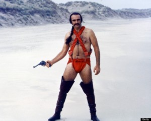 Exhibit A - Even Sean Connery can't pull this off!