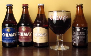 Chimay beer -- it will get you drunk!